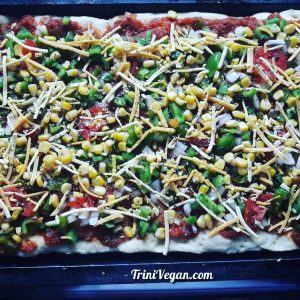 Divine 'Cheesy' Vegan Pizza