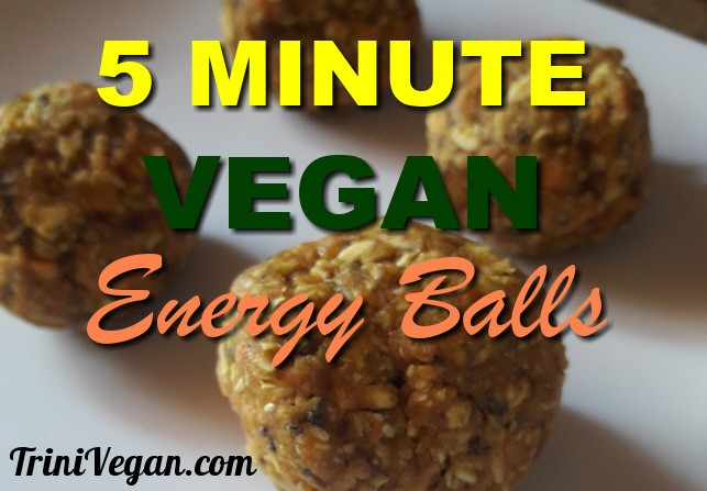 5 Minute Raw Vegan Energy Balls