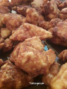 Scrumptious Vegan KFC Style 'Chicken'